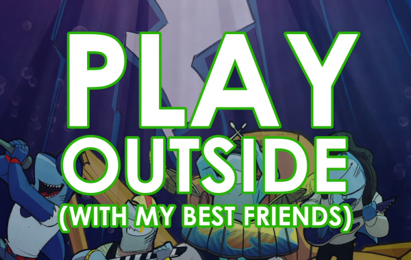 Sharky Sharky – Play Outside (Official Lyric Video)